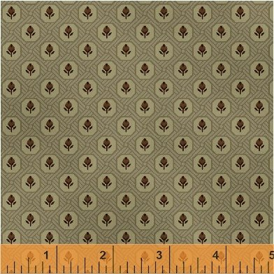 Orchard House Taupe/Rosebuds