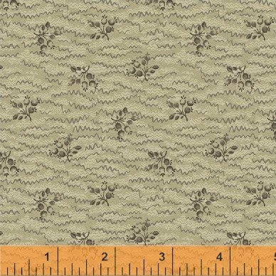 Orchard HouseTaupe Small Floral/Pink Squiggles