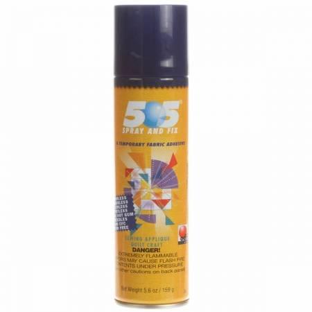 505 Spray & Fix Temporary Repositionable Fabric Adhesive 6.22oz (ORMD)
