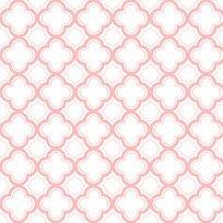 Sorbets Carnation Pink Geometric