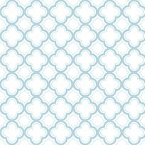 Sorbets Cloud Blue Geometric