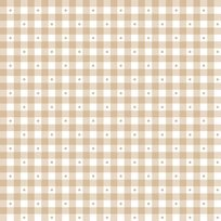 Sorbets Light Taupe Gingham