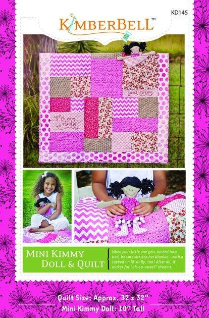 Mini Kimmy Doll & Quilt set
