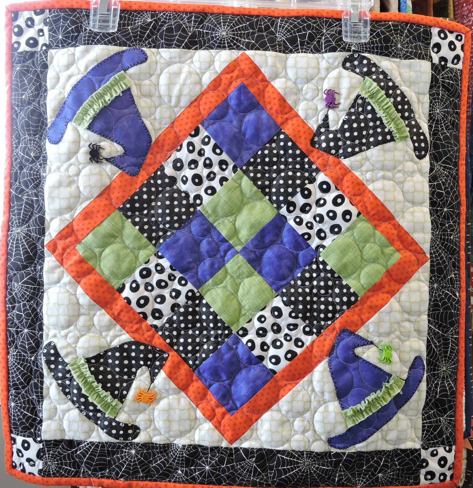 Kimberbell Witch Hat Table Topper Sampler