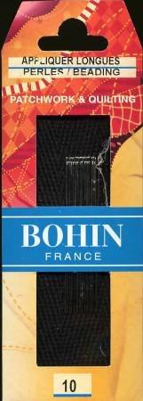 Bohin Applique Long / Beading Needles Size 10
