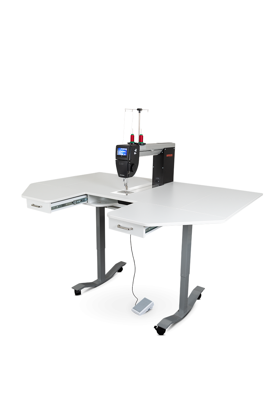 Q20 Long Arm WITH LIFT TABLE BY HORN