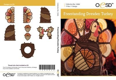 12666CD FREESTANDING TURKEY