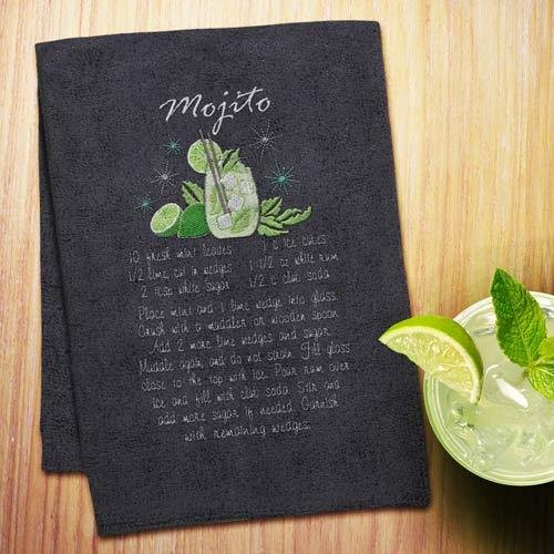 Cocktail Recipe Towels - 12782CD