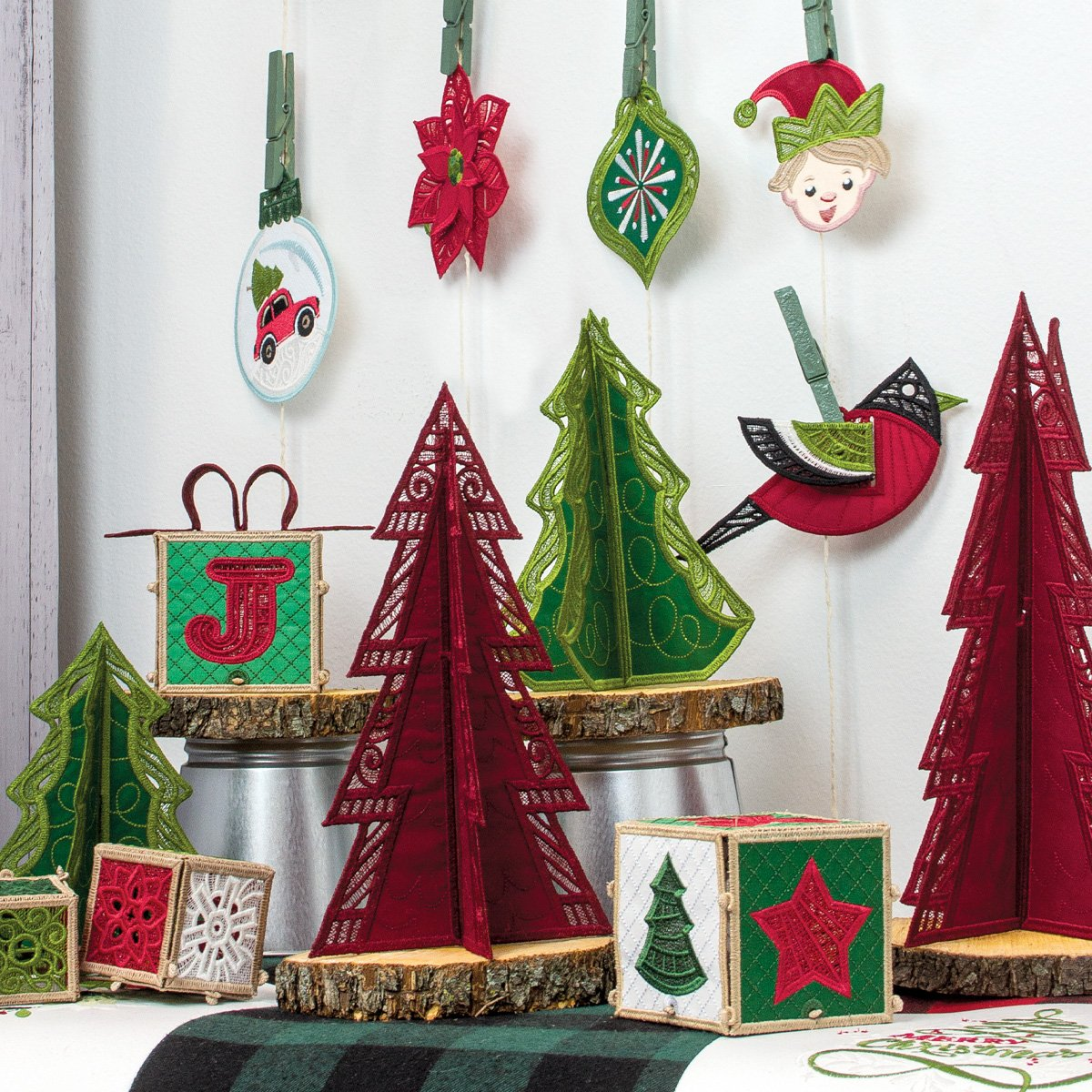 Holly Jolly Ornaments and Accents