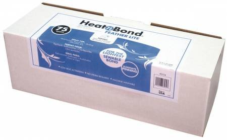Heat N Bond Feather Lite Fusible 17in X 75 yd # 3534