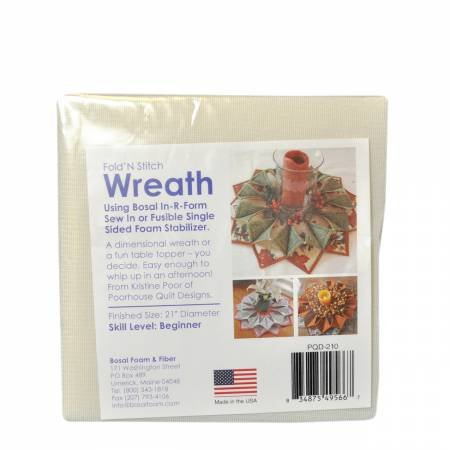 Bosal In-R-Foam FOLD AND STITCH WREATH 495-6B
