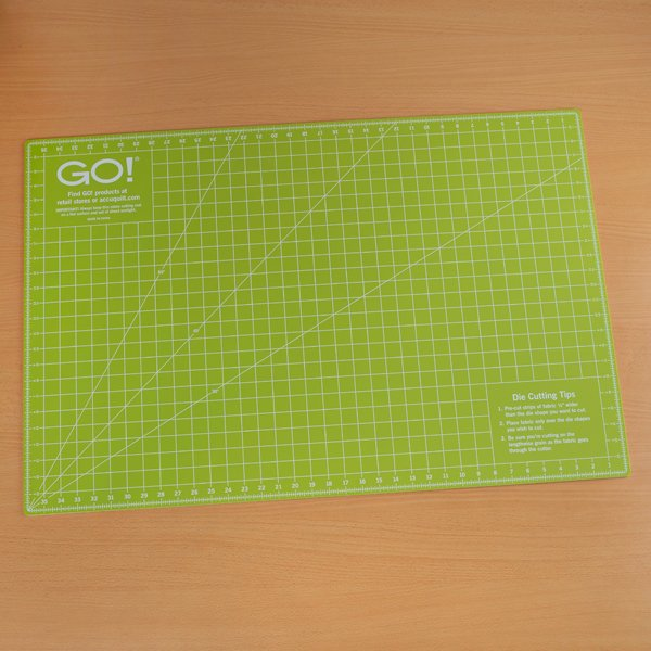 Go! Rotary Cutting Mat 18x24 Double Sided