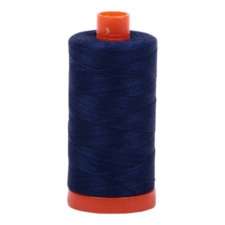 Mako Cotton Thread Solid 50wt 1422yds Dark Navy