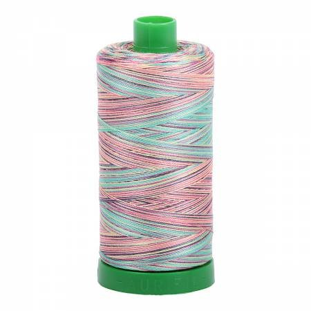 Mako Cotton Embroidery Thread 40wt 1094yds Variegated