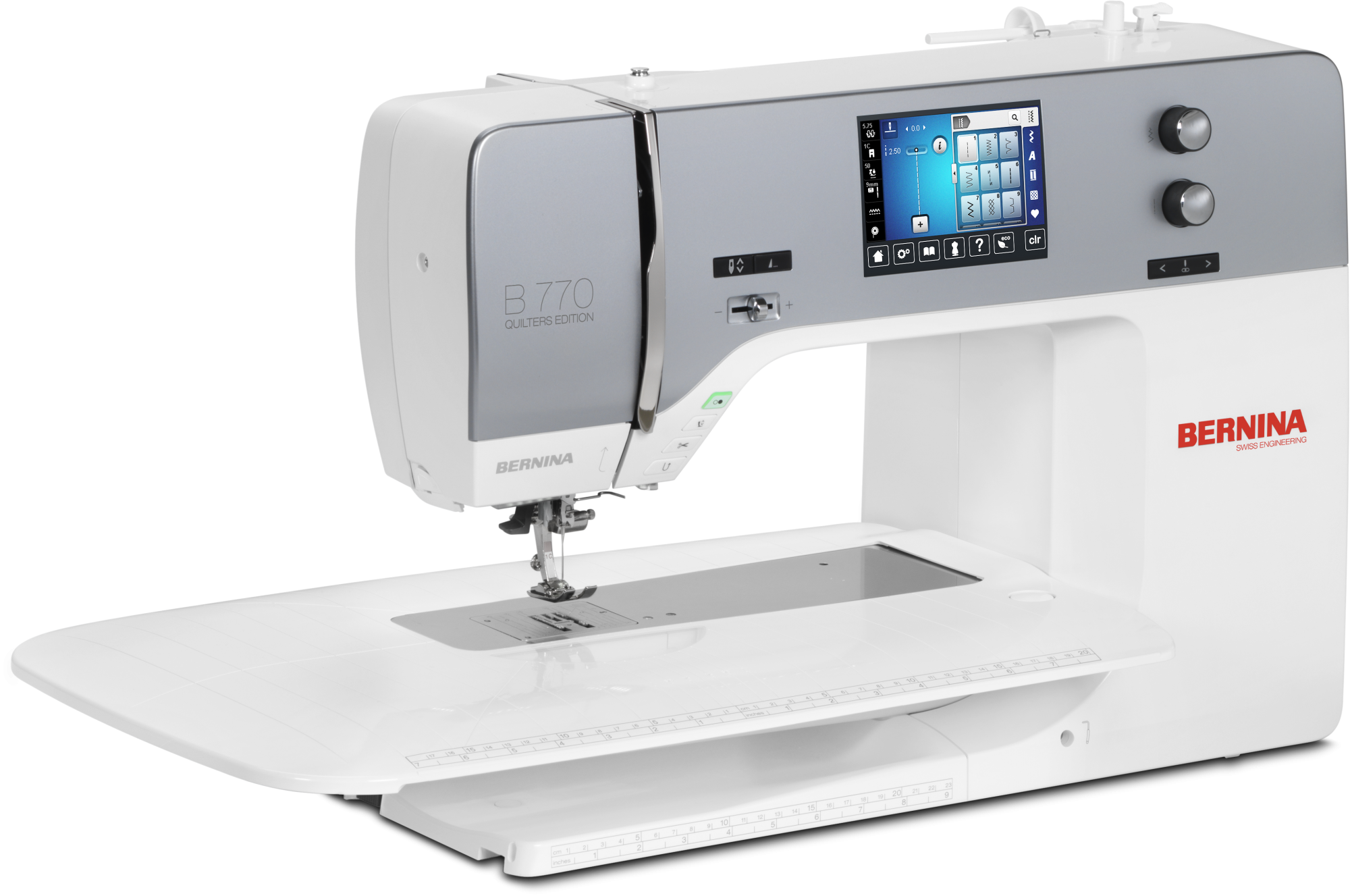 BERNINA B770QE SEWING MACHINE ONLY