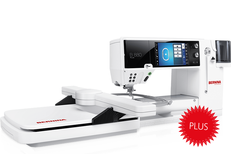 BERNINA 880 QEE  Comes with embroidery module