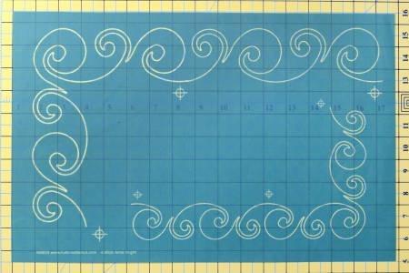 Full Line Stencil Playful Border # H60020