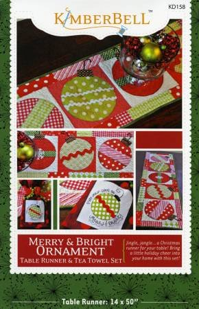 MERRY AND BRIGHT ORNAMENT KD158