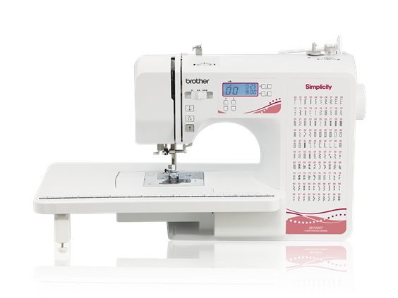 Simplicity SB40T Computerized Sewing Machine With Included Amazing Heyde Sewing Machine
