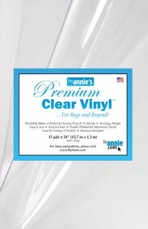 Clear Vinyl 16 Gauge 54 pre yards # SUP151