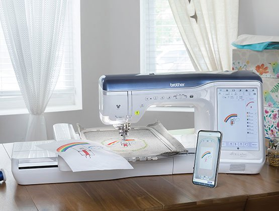 Stellaire Sewing & Embroidery Machine XJ1