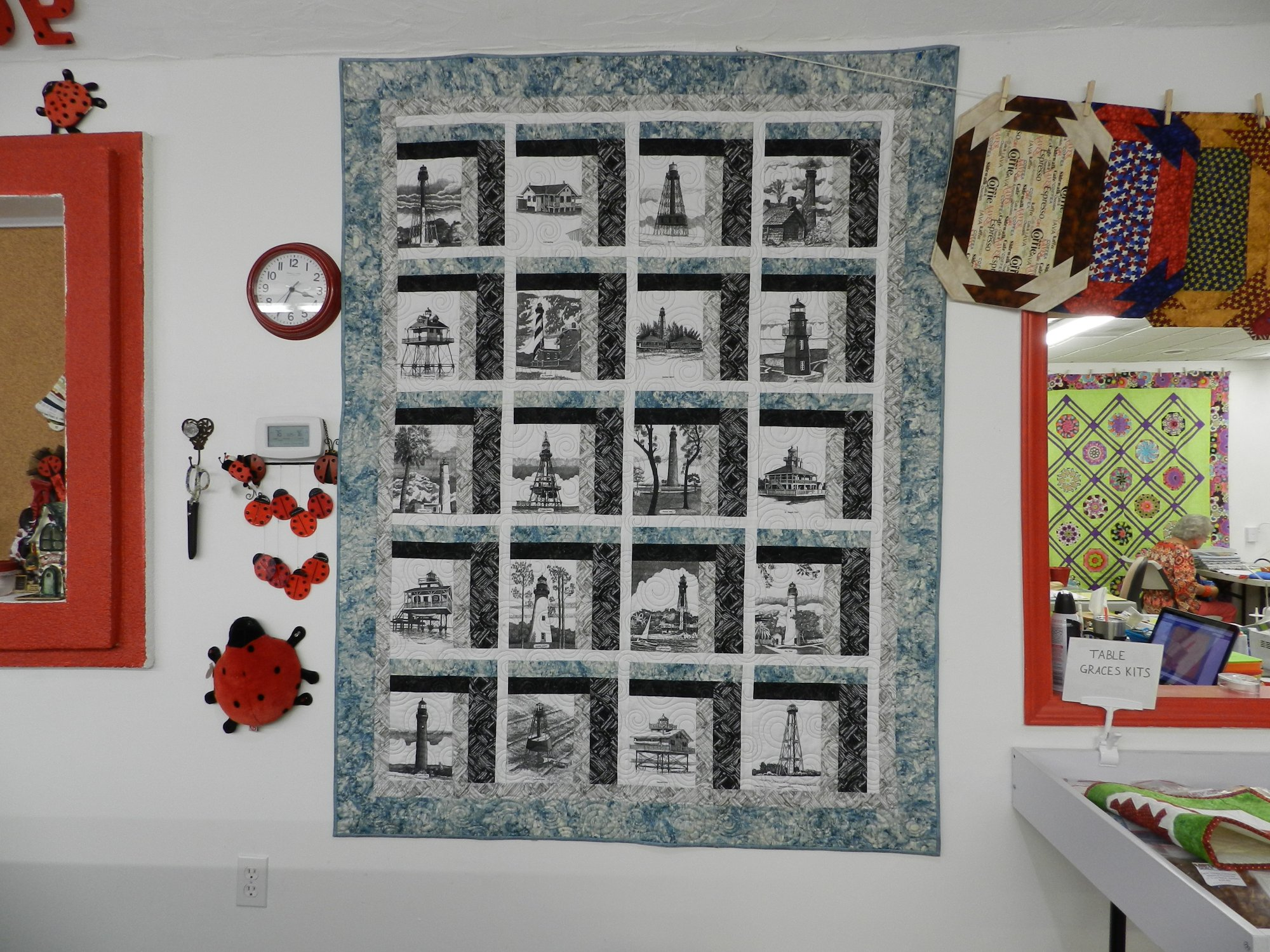 Fabric Shop Longarm Quilting Service Blenders Batiks