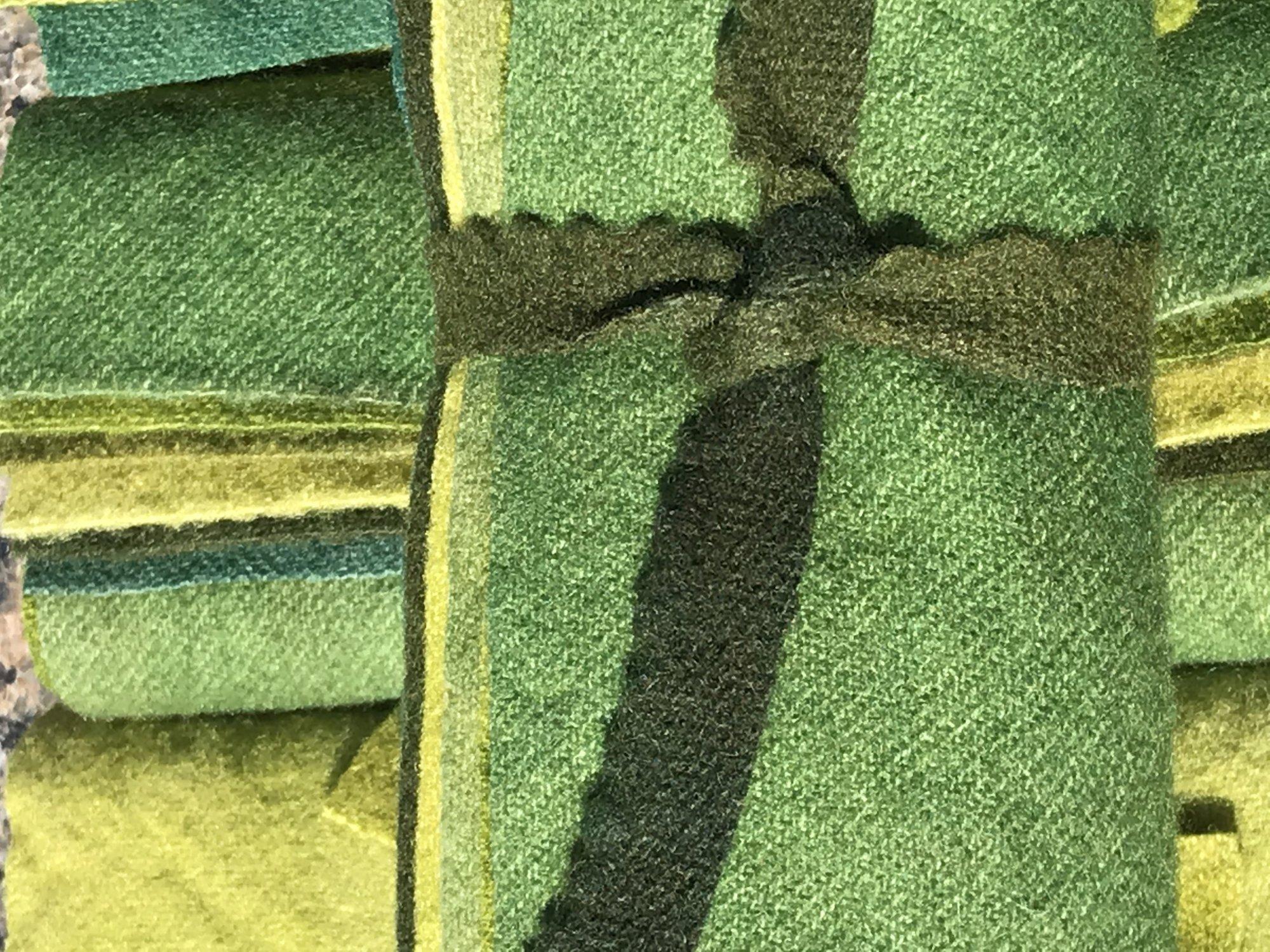 Greens 6 Piece Wool Bundle 6.5 X 7.5