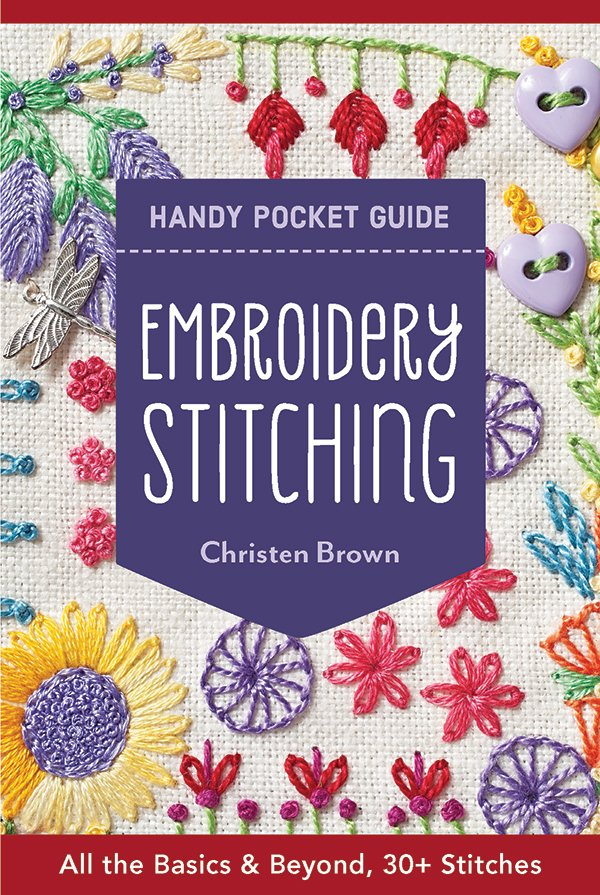 Embroidery Stitching Handy Pocket Book
