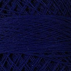106 Rich Cobalt Blue Crochet Cotton Valdani Size 20 Wt
