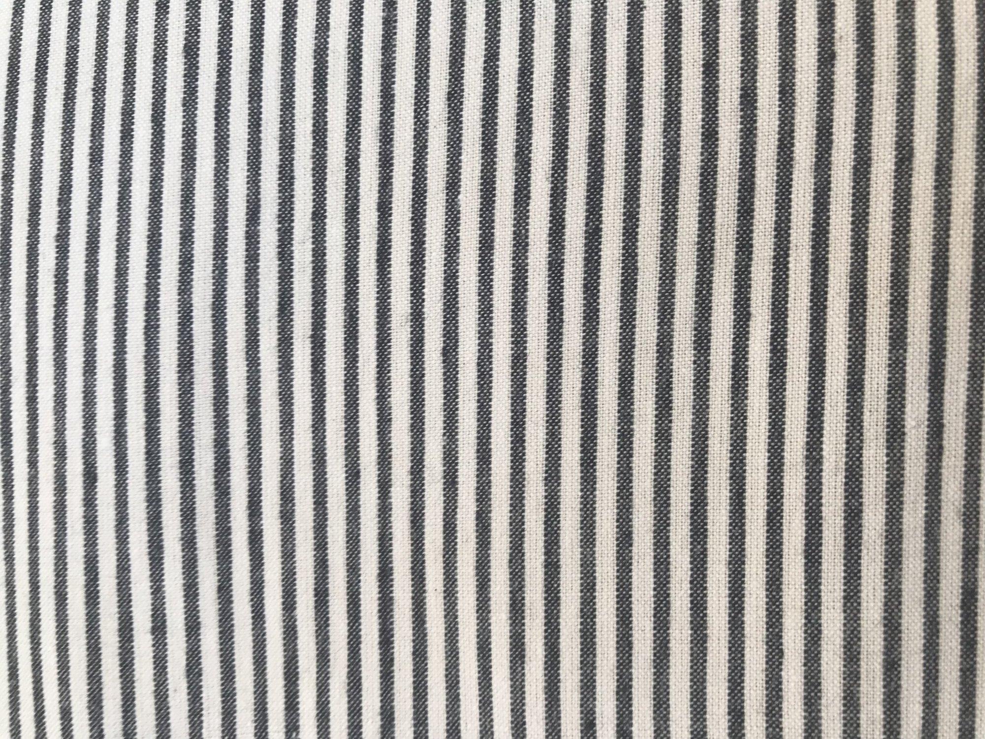 9 Piece Only Vintage Cream/Black Stripe AM 13 by Diamond Textiles