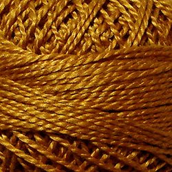 265 Size 8 Backyard Honeycomb Solid Pearl Cotton Valdani