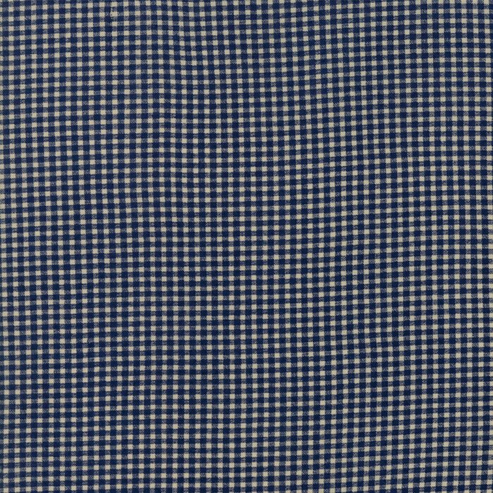 Evelyn's Homestead 31565 16 Navy and Cream Check