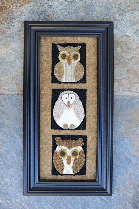 Little Wise Owls  Little Bits by Joan