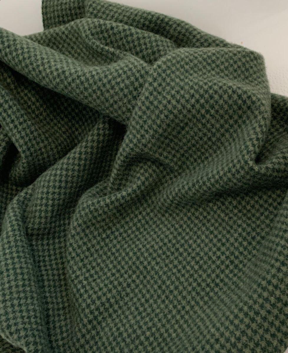 Turf Green 100% Wool 18 X 21