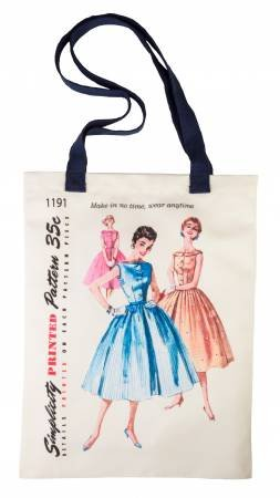 Simplicy Tote Bag - Made in No Time  12.75 X 16.5