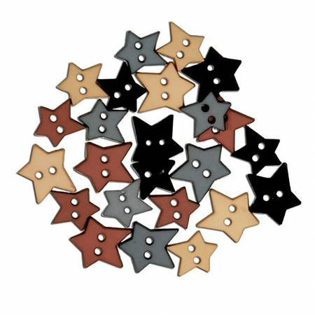 Heritage Star Buttons