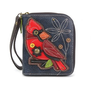 Cardinal Zip Around Wallet