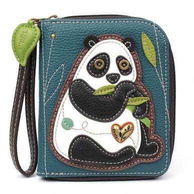 New Panda Zip Around Wallet