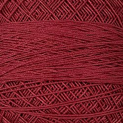 842 Old Rose Med. Crochet Cotton Valdani Size 20 Wt