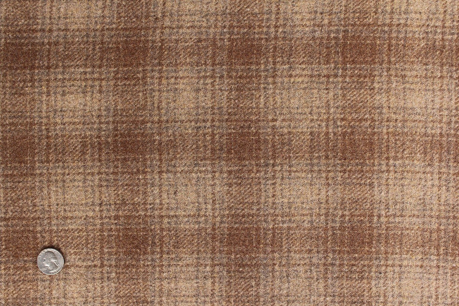 Boone Brown 100% Wool 9 X 14