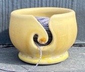 Pre Orders Thread Tumbler Bowl Antique Yellow Handmade in the USA!!