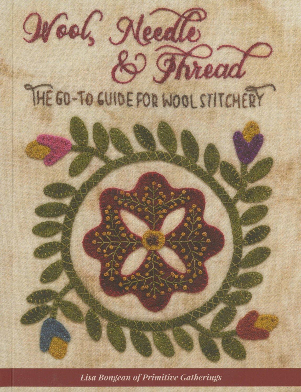Wool Needle and Thread book by Lisa Bongean