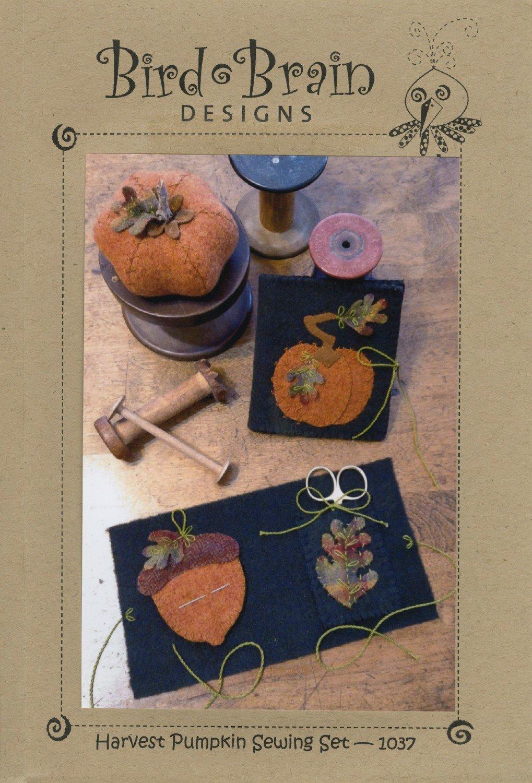 Harvest Pumpkin Sewing Set by Bird Brain Designs