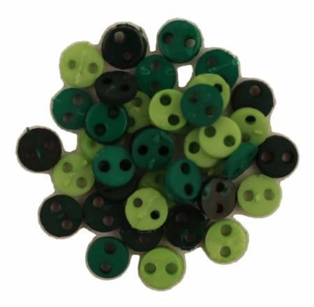 Rainforest Tiny Buttons