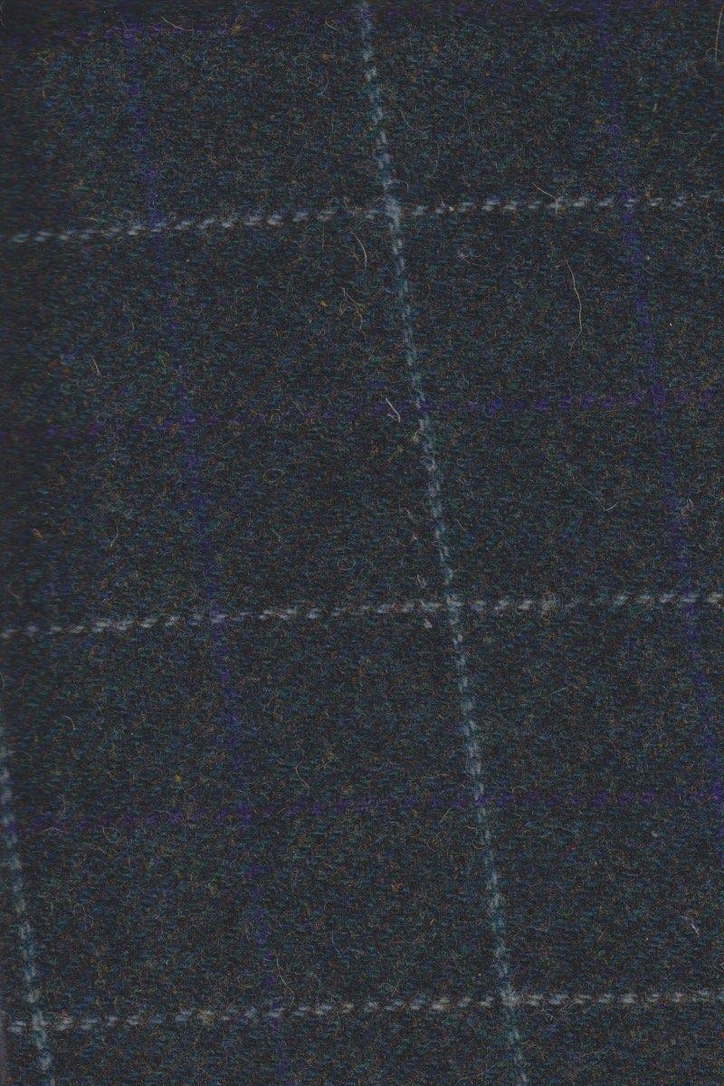 Bountiful Blue 18 X 21 100% Wool