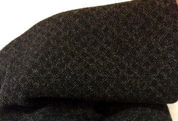 Ink Blot 100% Wool 9 X 14
