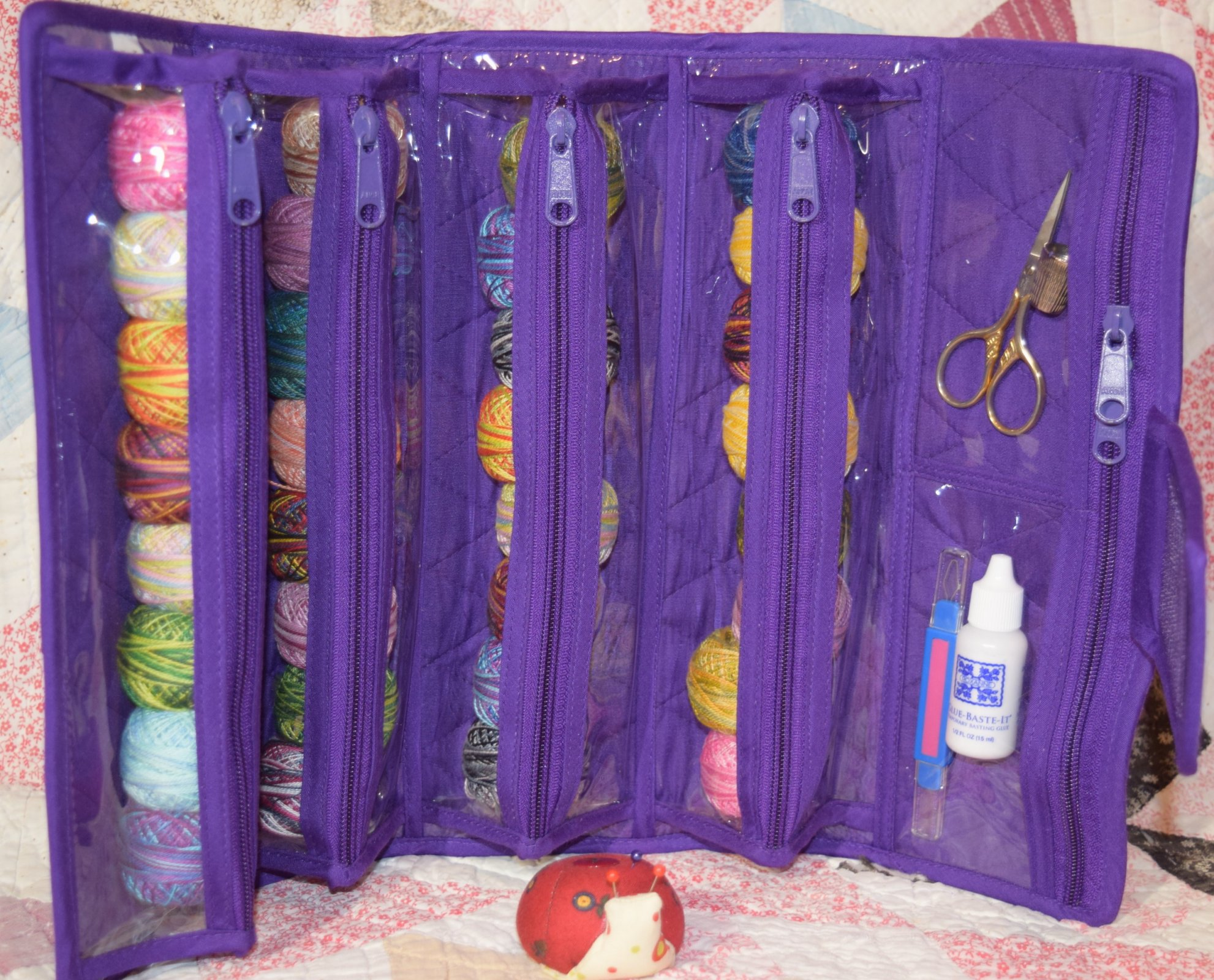 Large Violet Purple Roll-up Bag by Yazzii