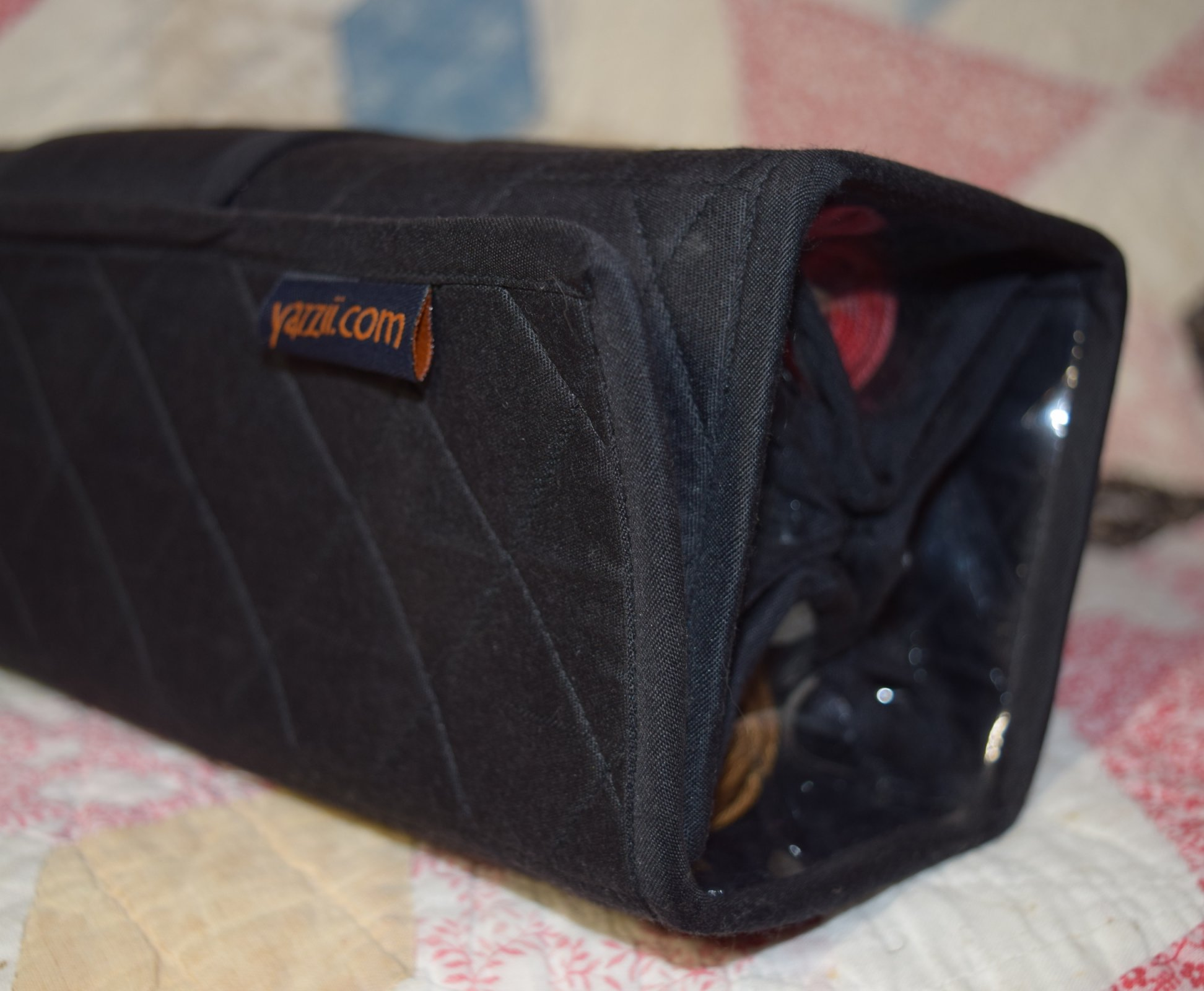 Large Black Roll-up Bag by Yazzii