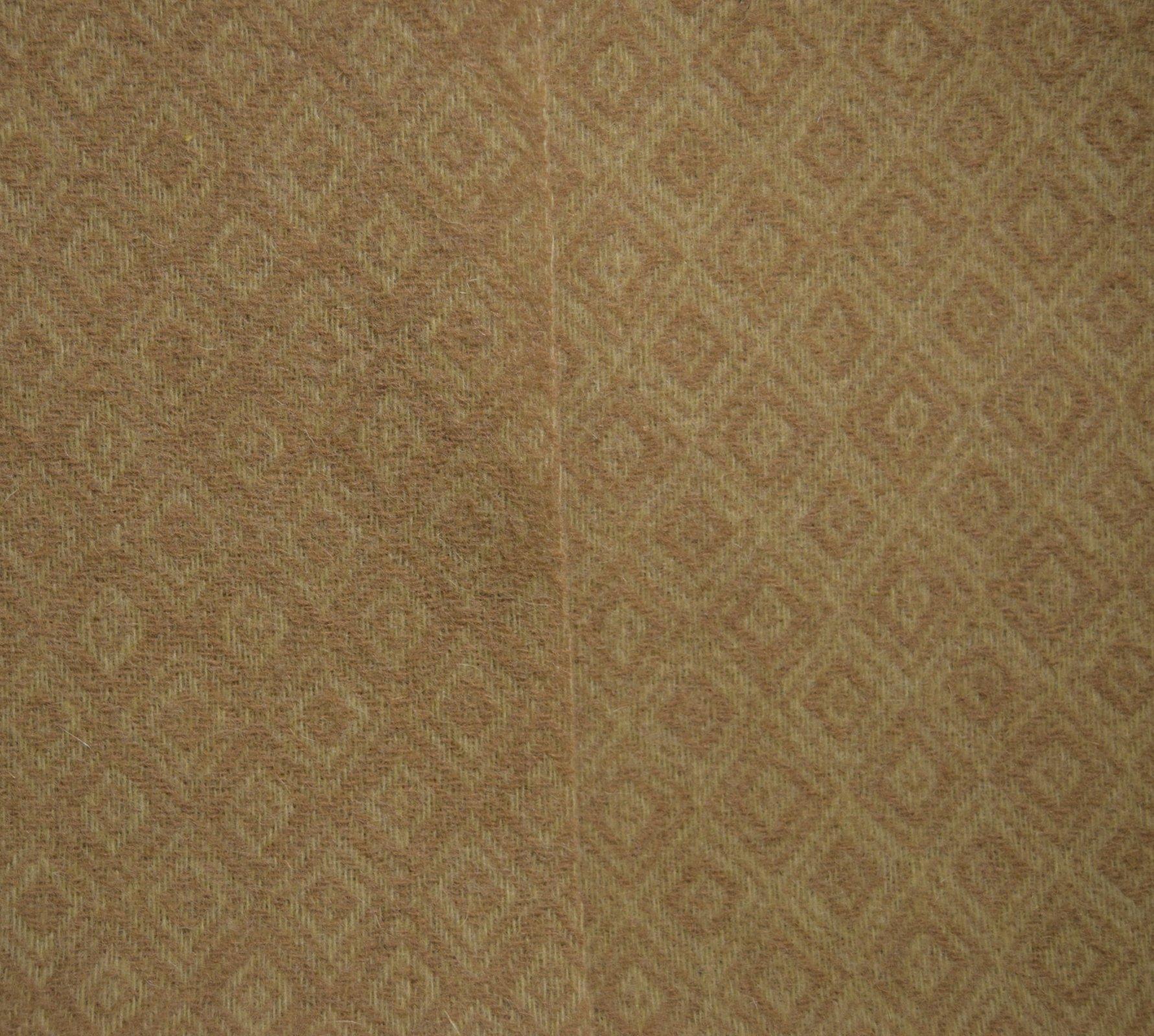 Tortoise  9 X 14 100% Wool Reversible