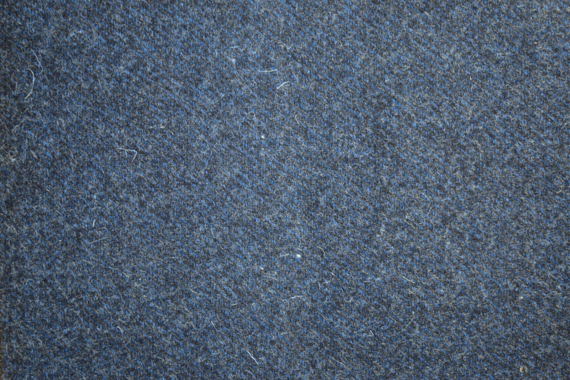 Blue Jeans 18 X 21 100% Wool